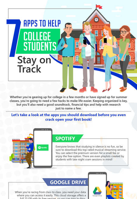 7 apps to help students stay on track