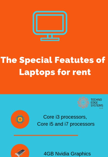 The special featutes of    laptops for rent