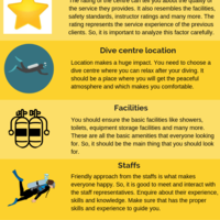Tips for choosing the right diving center
