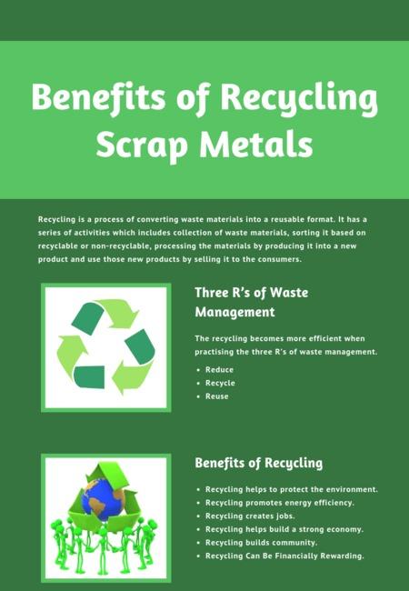Benefits of recycling scrap metals (1)