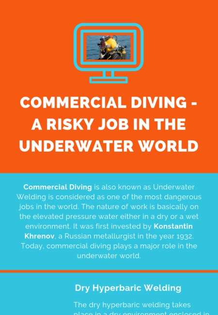 Commercial diving   a risky job in the underwater world
