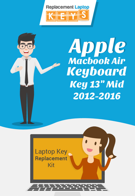Shop apple macbook air keyboard key 13 mid 2012 2016 laptop key replacement