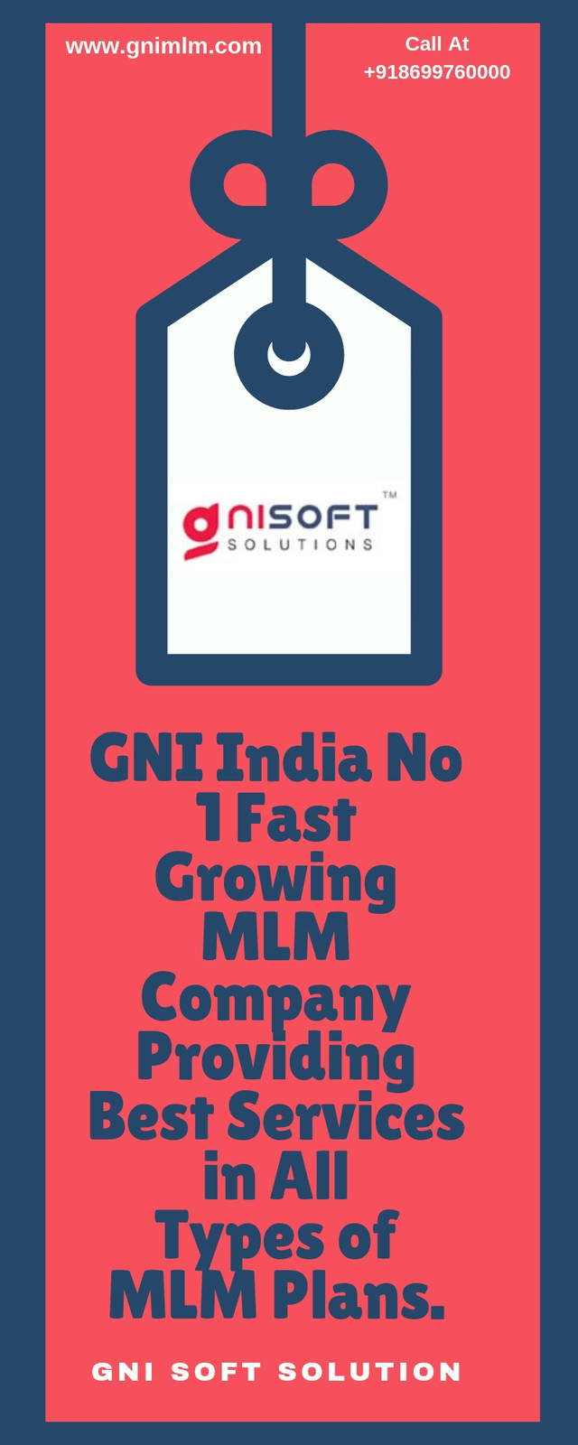 Gni india no 1 fast growing mlm company providing best services in all types of mlm plans.