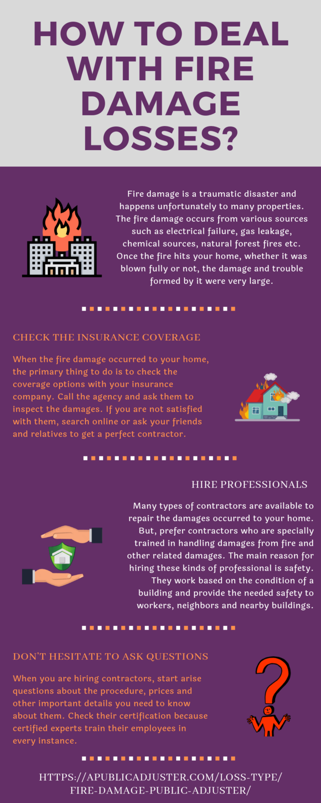 How to deal with fire damage losses  (2)