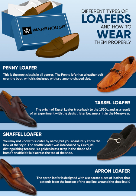 Different types of loafers and how to wear them properly