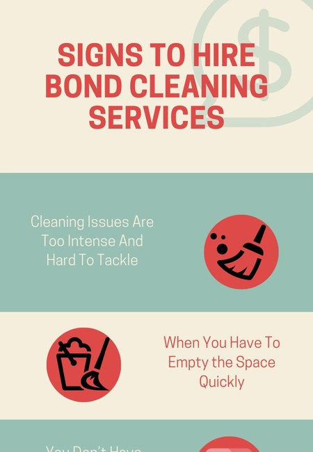 Signs to hire a bond cleaning service