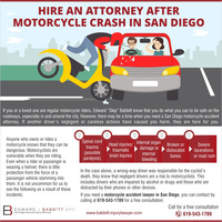 Hire an attorney after motorcycle crash in san diego