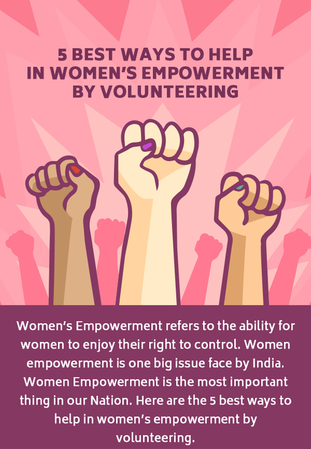 5 best way to help in women  39 s empowerment by