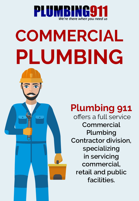 Contact plumbing 911 for commercial plumbing services in norton  oh
