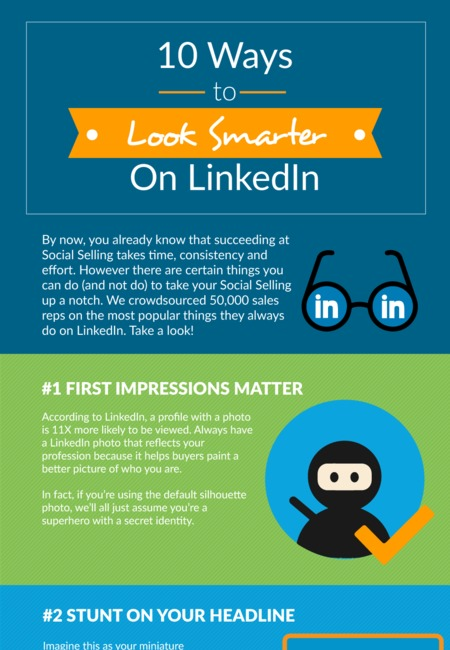 10 ways to look smarter on linkedin