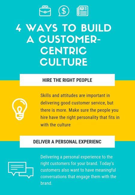 4 ways to build a customer centric culture