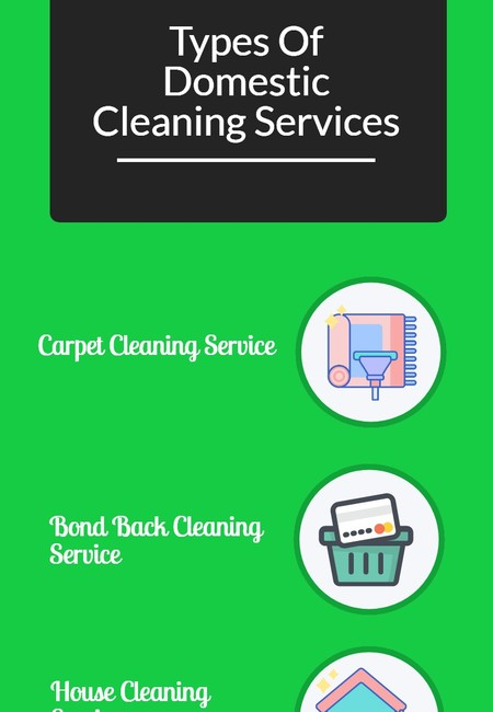 Types of domestic cleaning services