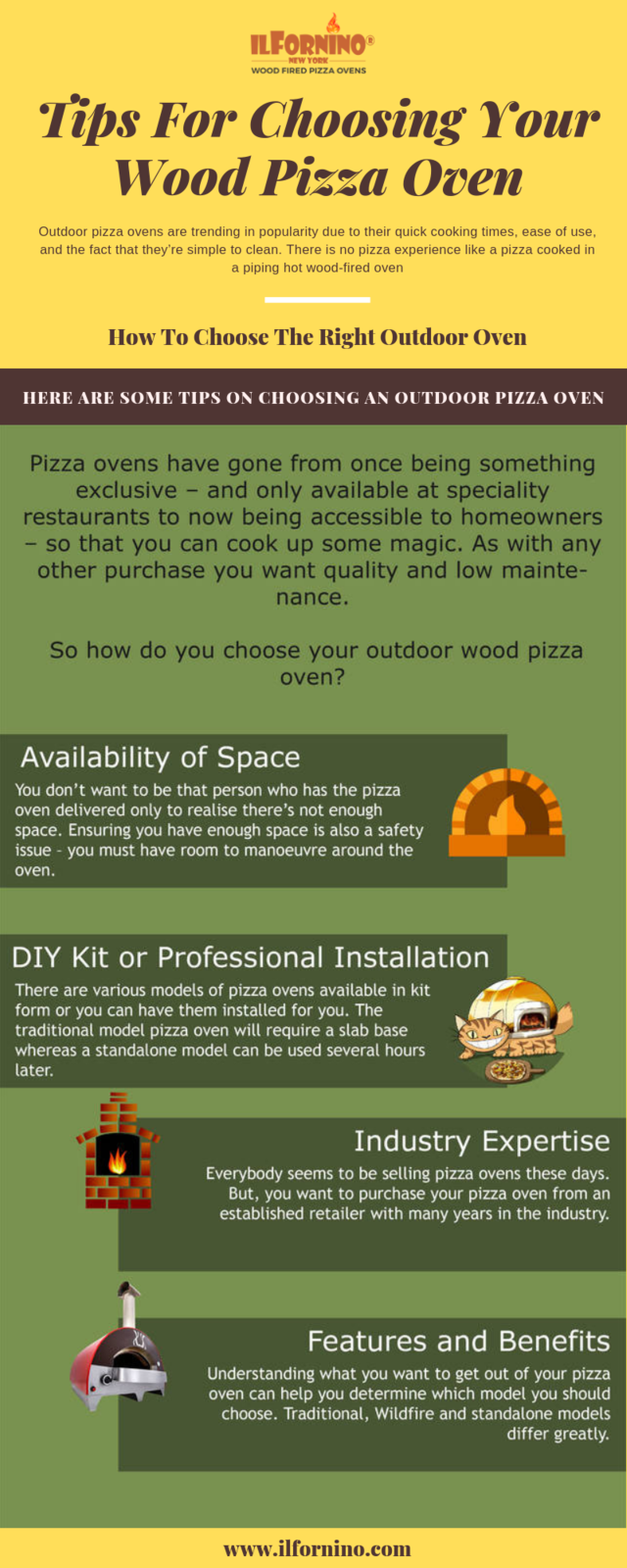 Tips for choosing your wood pizza oven