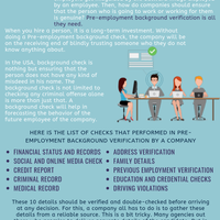 Insight about pre employment background checks