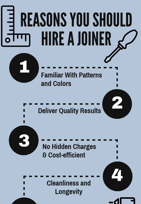 Reasons you should hire a joiner