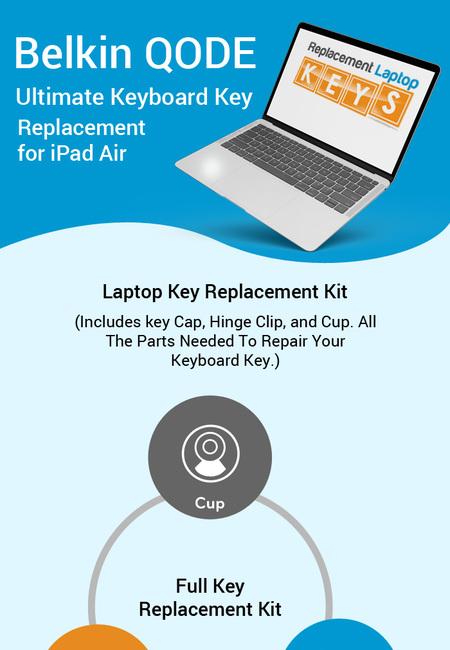 Shop original belkin qode ultimate keyboard keys online from replacement laptop keys