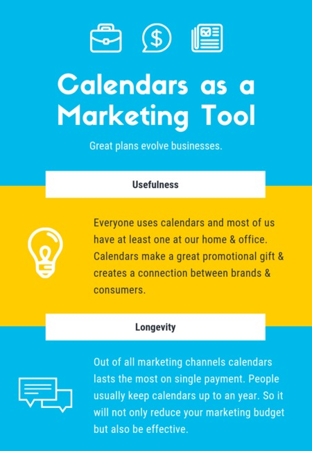 Calendars as a marketing tool