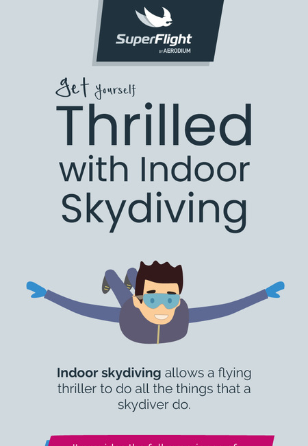 Get yourself thrilled with indoor skydiving in miami