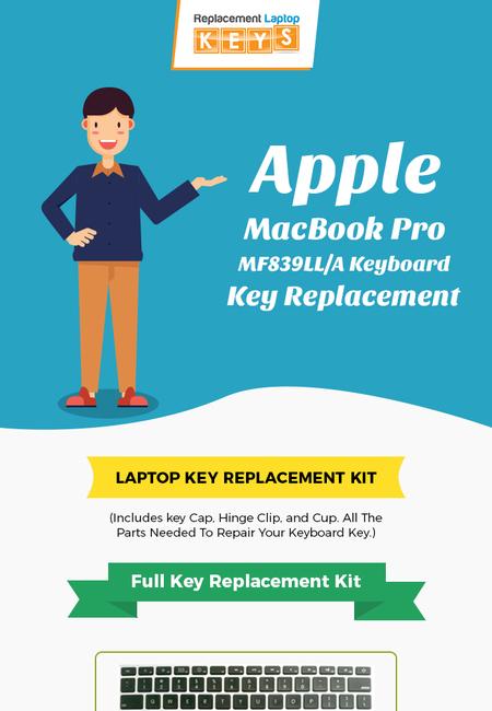 Apple macbook pro mf839lla keyboard key replacement