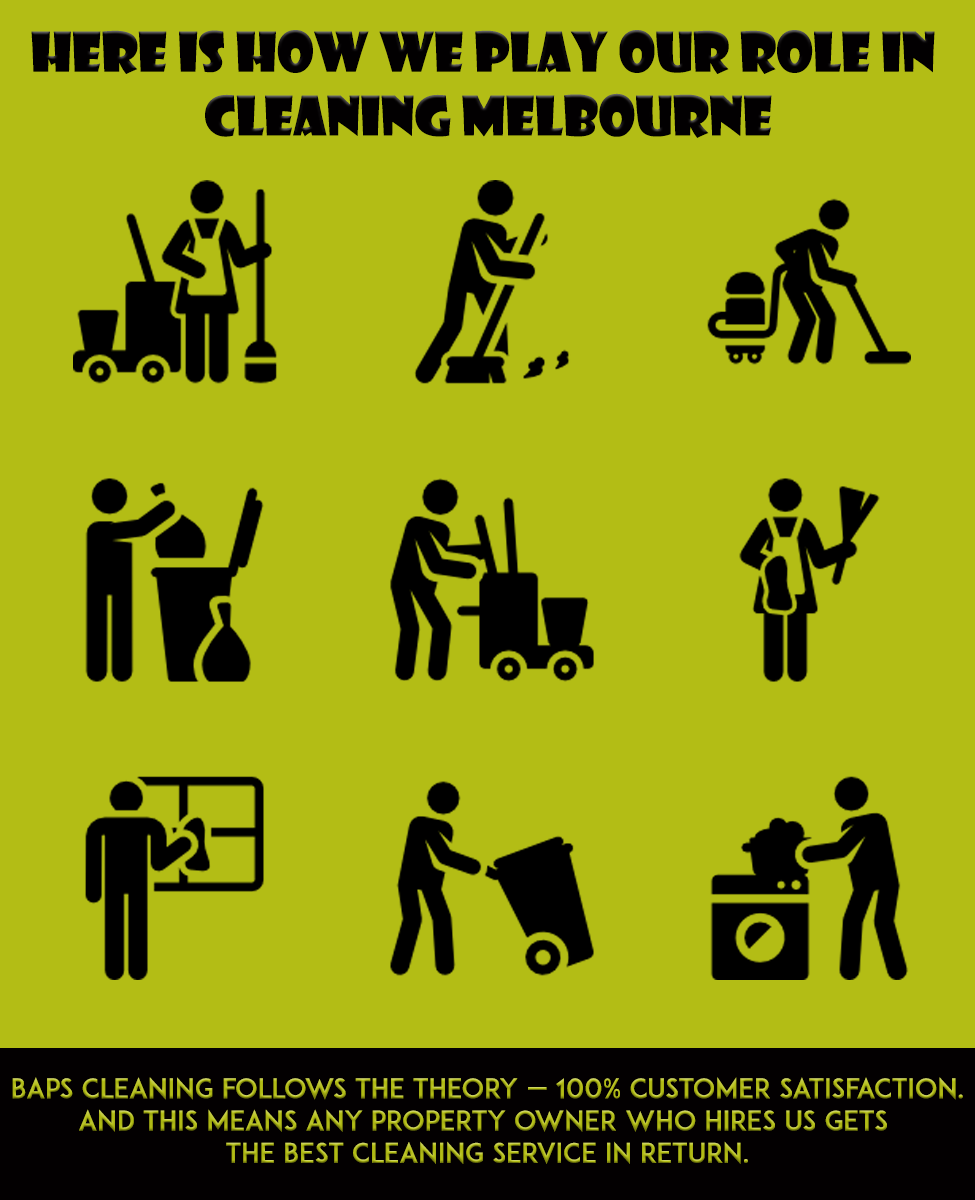Here Is How We Play Our Role In Cleaning Melbourne
