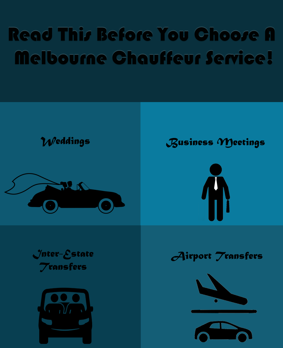 Read This Before You Choose A Melbourne Chauffeur Service!