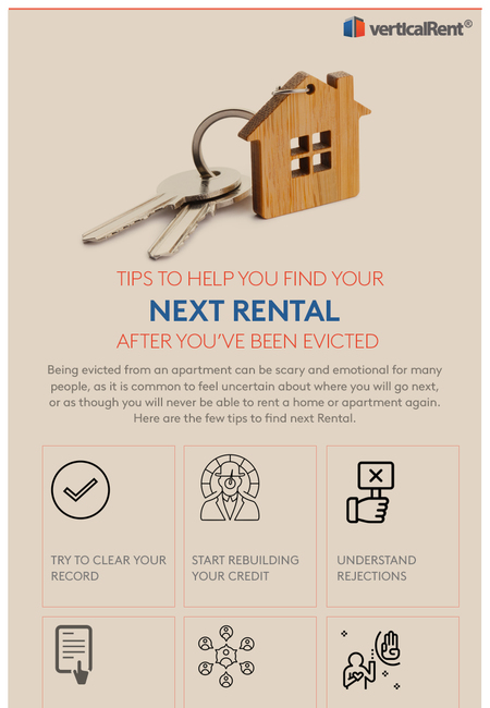 Tips to help you find your next rental after you've been evicted