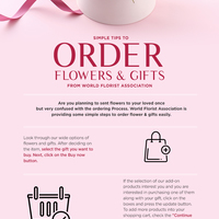 Simple tips to order flowers   gifts from world florist association.