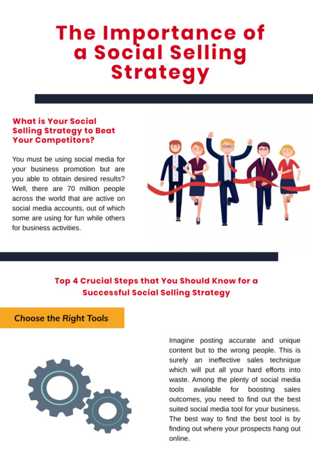 The importance of a social selling strategy