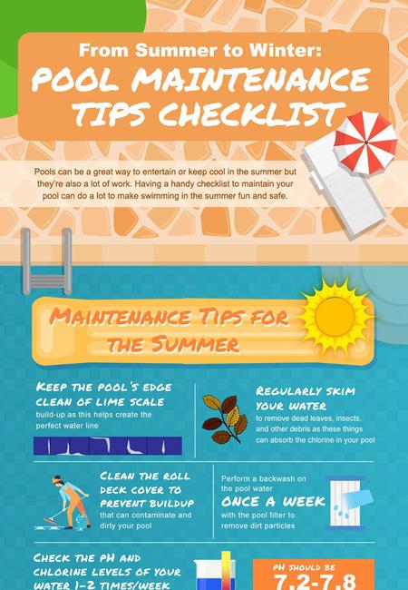 Seasonal pool maintenance checklist800