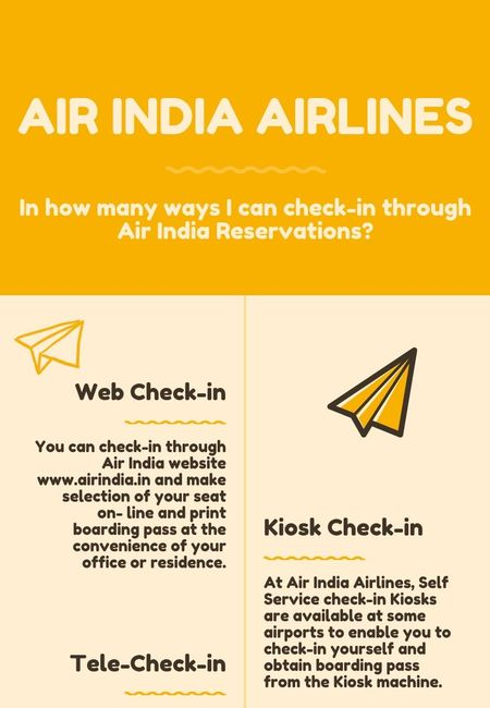Air india reservations