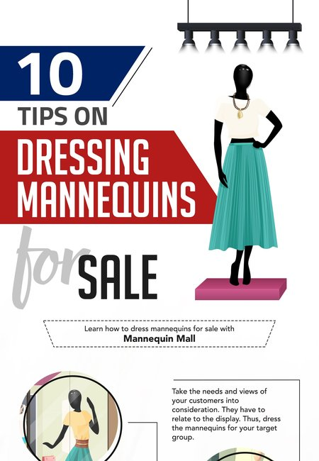 Infographic   10 tips on dressing mannequins for sale
