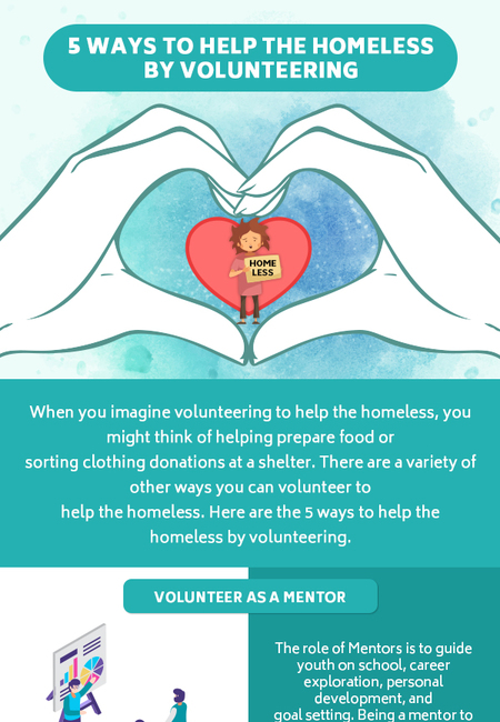 5 ways to help the homeless by volunteering