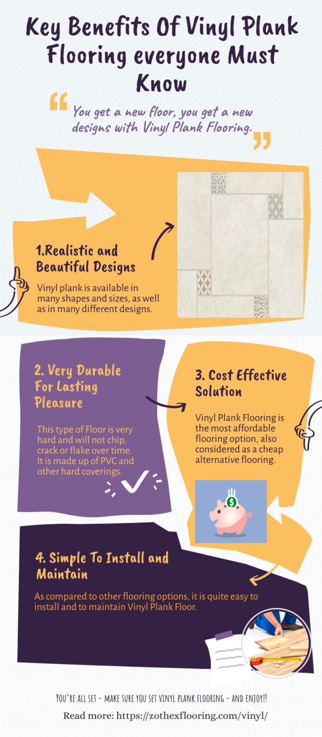 Key benefits of vinyl plank flooring everyone must know