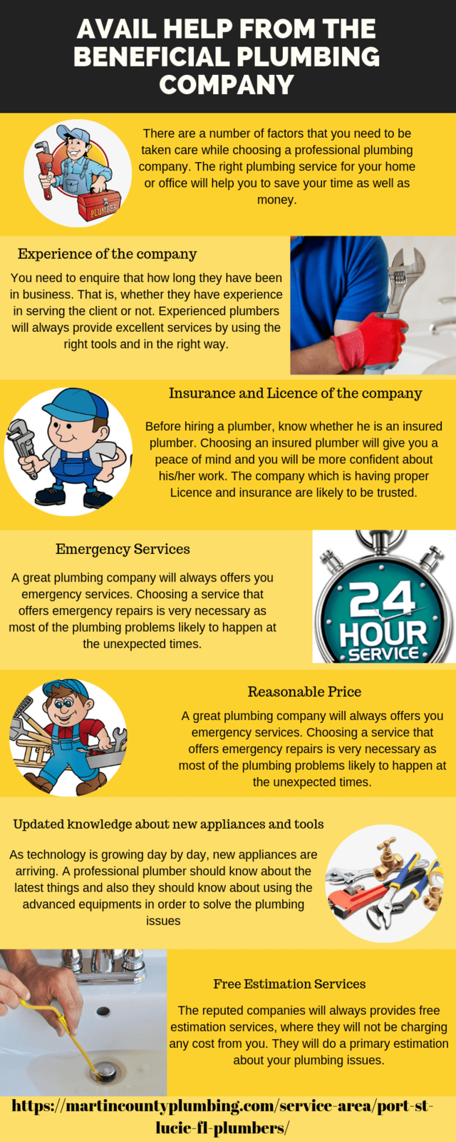 Avail help from the beneficial plumbing company