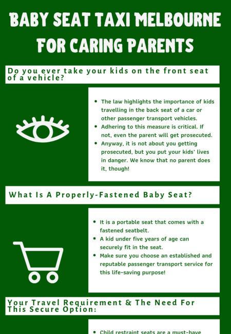 Baby seat taxi melbourne for caring parents (1)