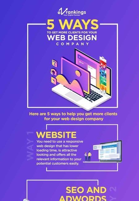 5 ways to get more clients for your web design company