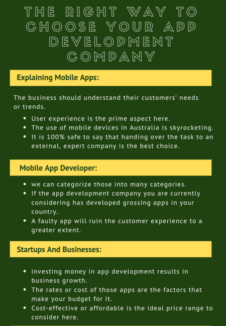 The right way to choose your app development company (1)