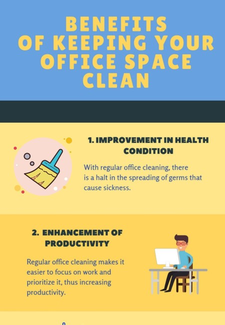 Benefits of keeping your office space clean