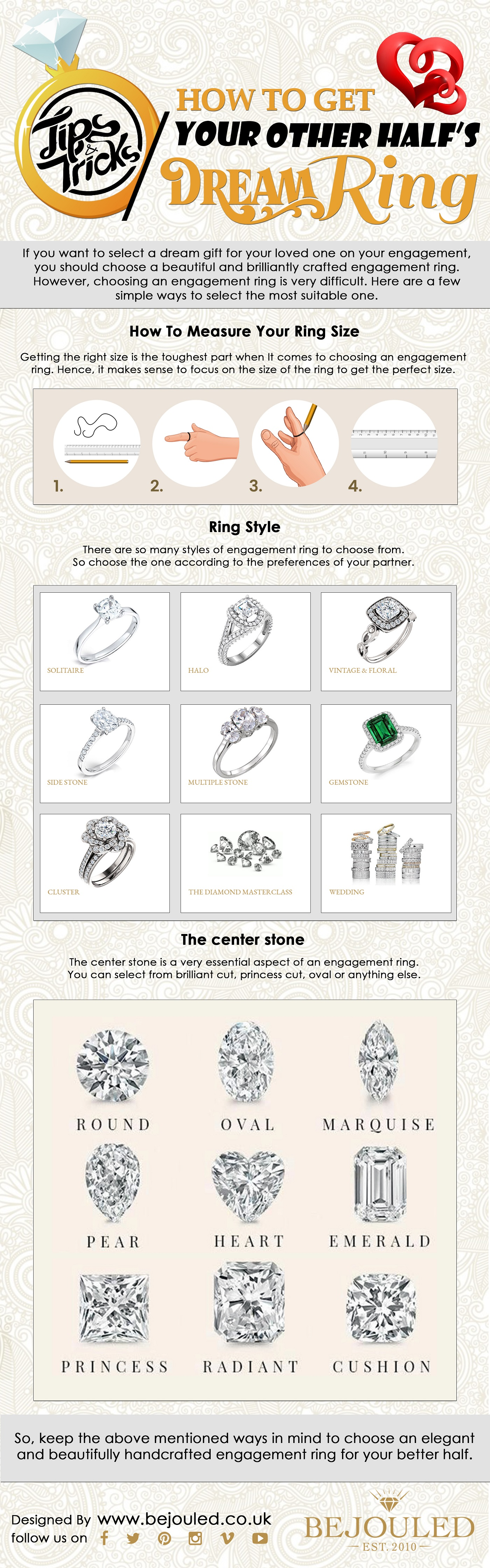 Tips & Tricks: How to Get your Other Half's Dream Ring