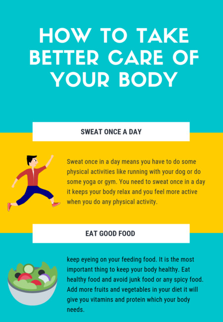How to take better care of your body