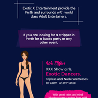 Contact exotic x entertainment for the hottest strippers   adult entertainers in perth