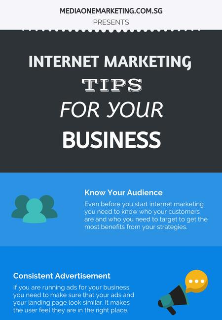 Internet marketing tips for your business