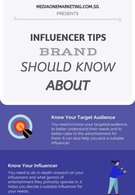 Influencer tips a brand should know