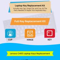 Buy genuine lenovo c460 replacement laptop keys online