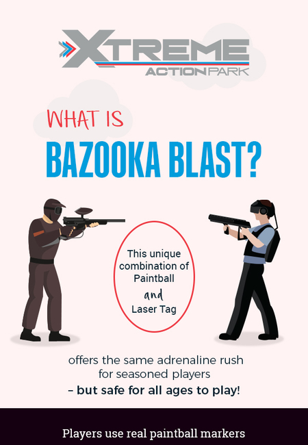 Visit xtreme action park to enjoy bazooka blast in fort lauderdale  fl