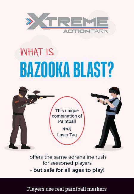 Visit xtreme action park to enjoy bazooka blast in fort lauderdale  fl