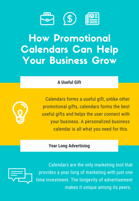 How promotional calendars can help your business grow