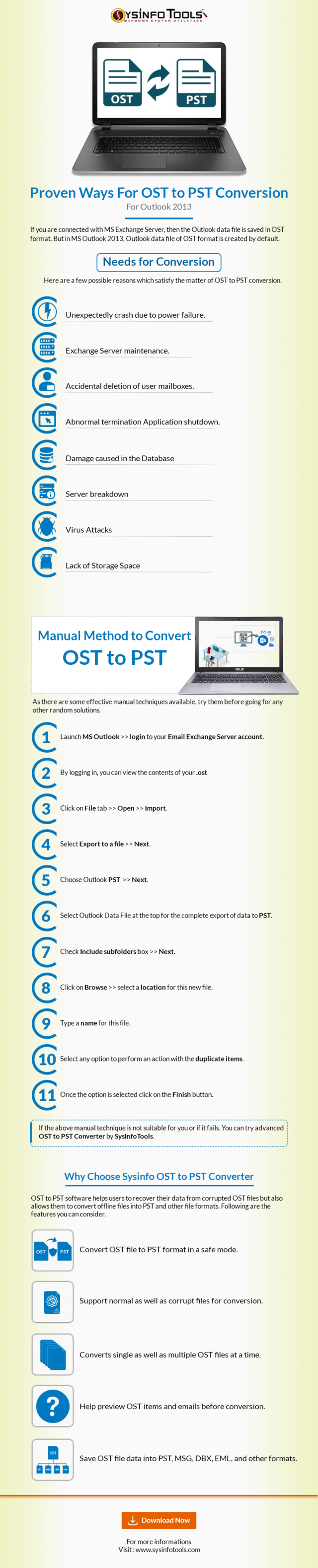Proven ways for ost to pst conversion for outlook 2013 (2)