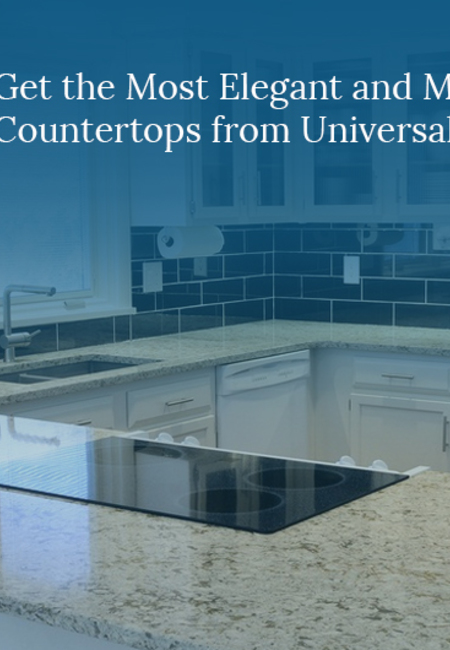Get the most elegant and modern marble countertops from universal stone