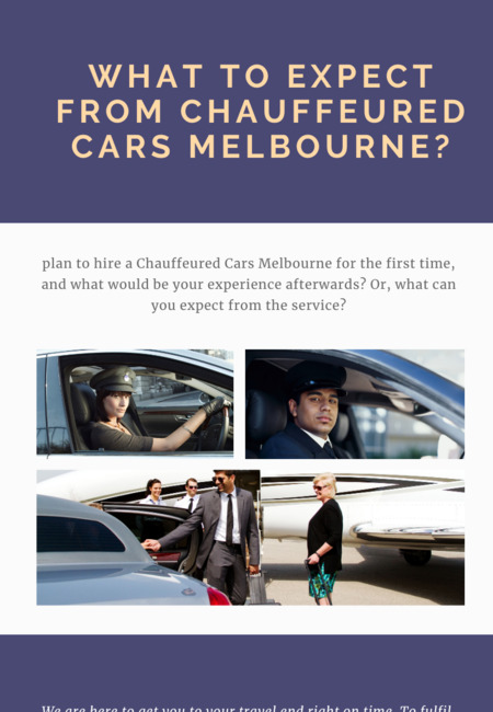 What to expect from chauffeured cars melbourne